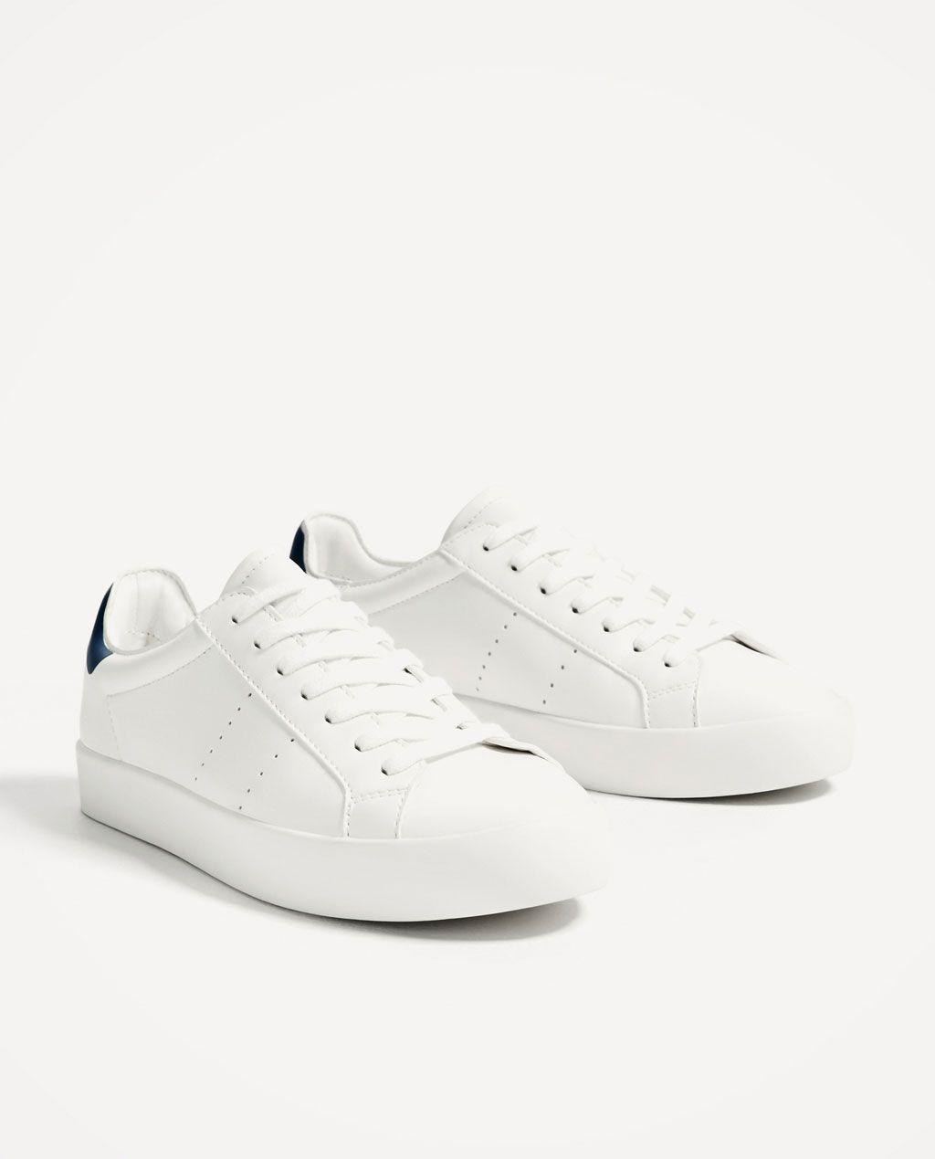 ZARA - SALE - BASIC WHITE SNEAKERS