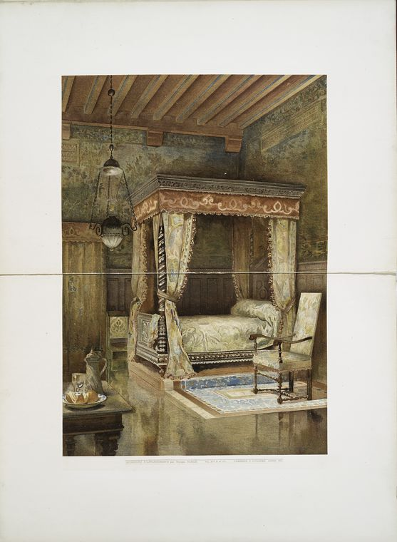 Chambre à coucher Louis XIII  Intérieurs du0027appartements modernes