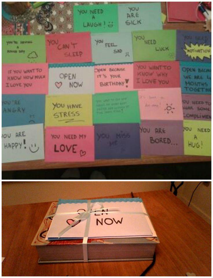 Open When  Letter Idea  Boyfriend DiyS    Xmas