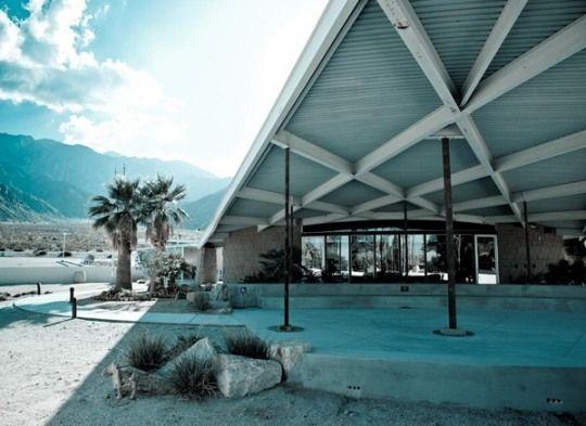 Albert Frey, Tramway Gas Station, Palm Springs, USA, 1965