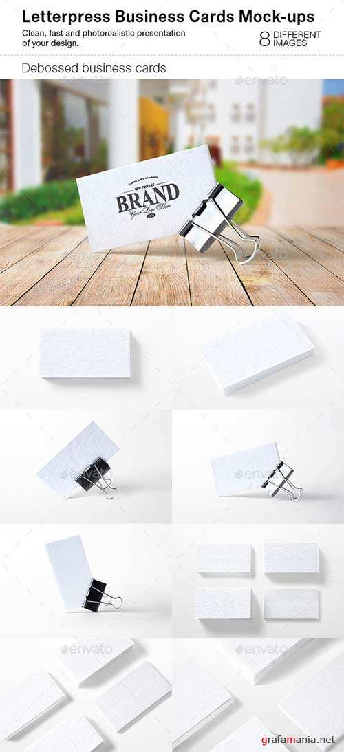 Graphicriver letterpress business cards mock ups pds pinterest graphicriver letterpress business cards mock ups photoshop psd reheart Choice Image