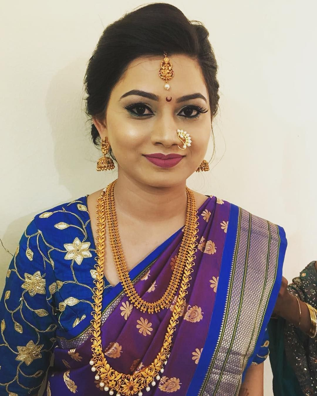 Engagement look for our very beautiful bridepriyapalande beautiful