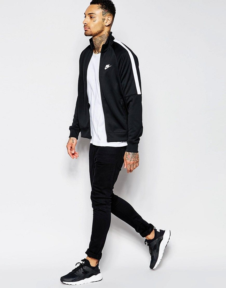 580795be8 Image 4 of Nike Tribute Track Jacket In Black 678626-010 | Fashion ...
