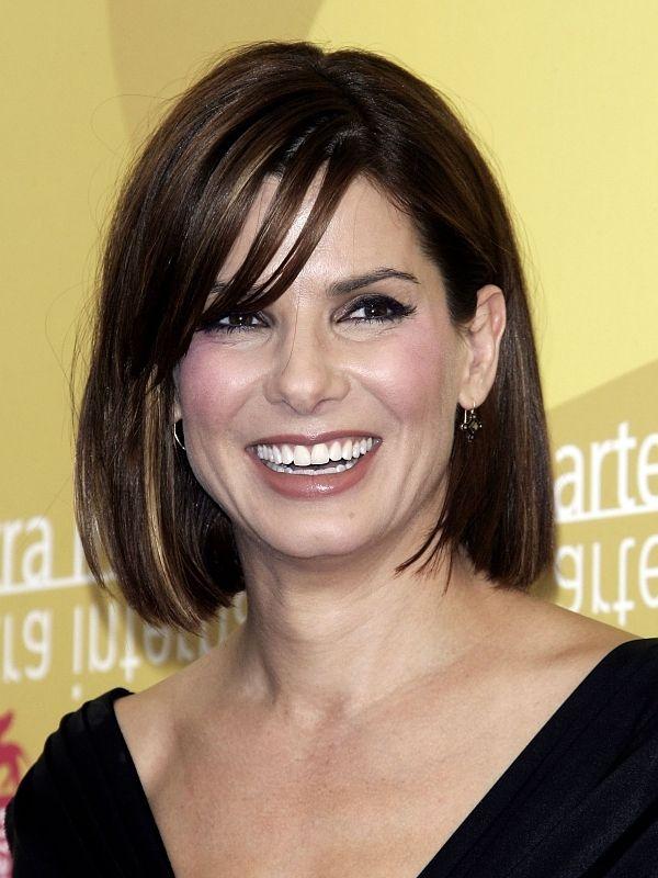 Sandra Bullock Hairstyles Sandra Bullock Hair Pinterest