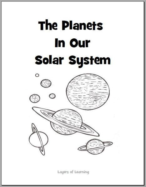 Planets Coloring Book | Science third grade | Planet books, Solar ...