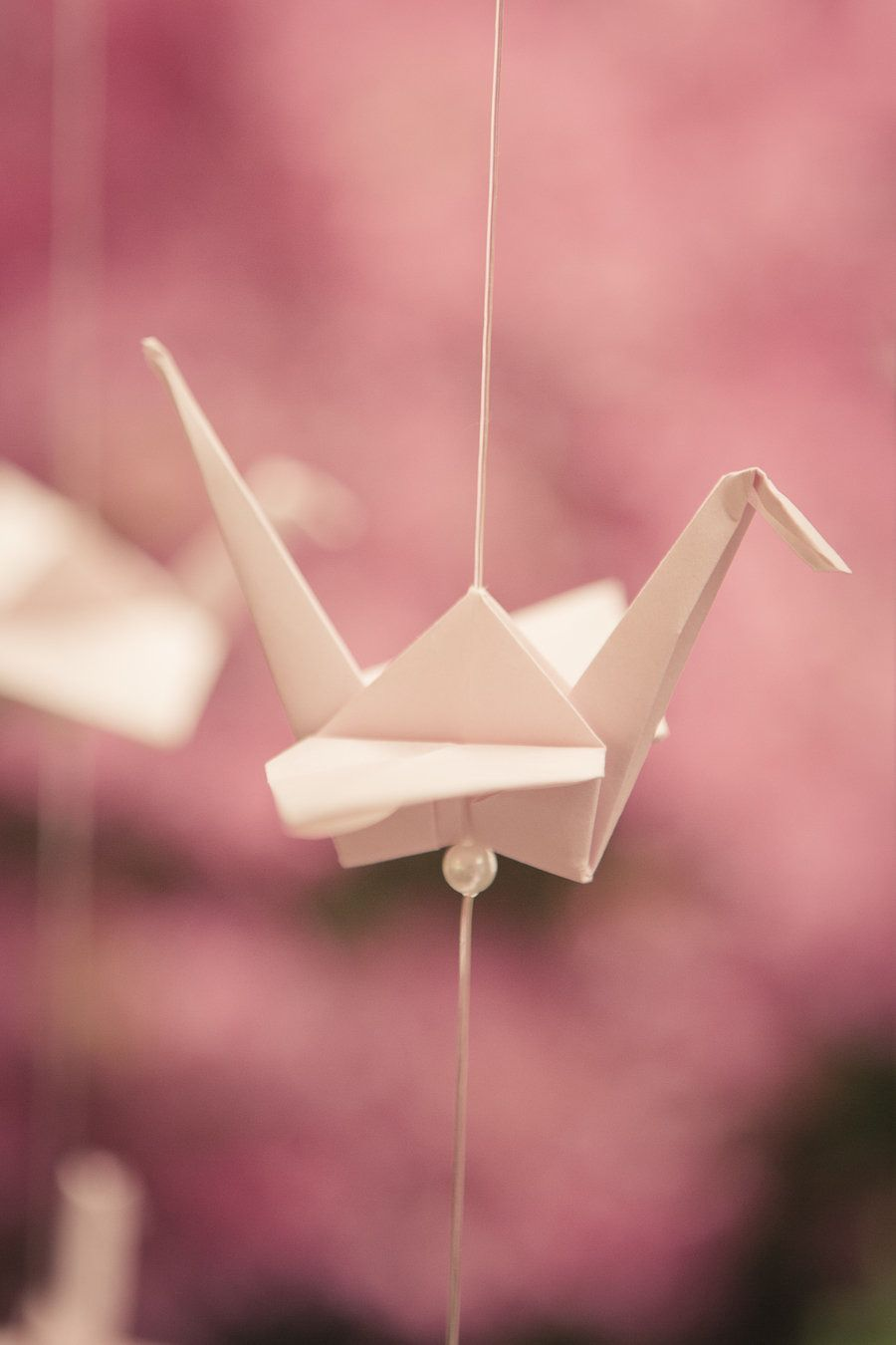 Pennsylvania Vintage Wedding From The Wedding Artist S Collective Origami Wedding Paper Crane Wedding Origami Love