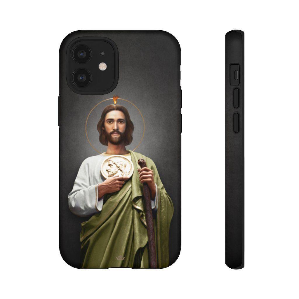 St. Jude Hard Phone Case (Dark) - iPhone 12 Mini / Matte
