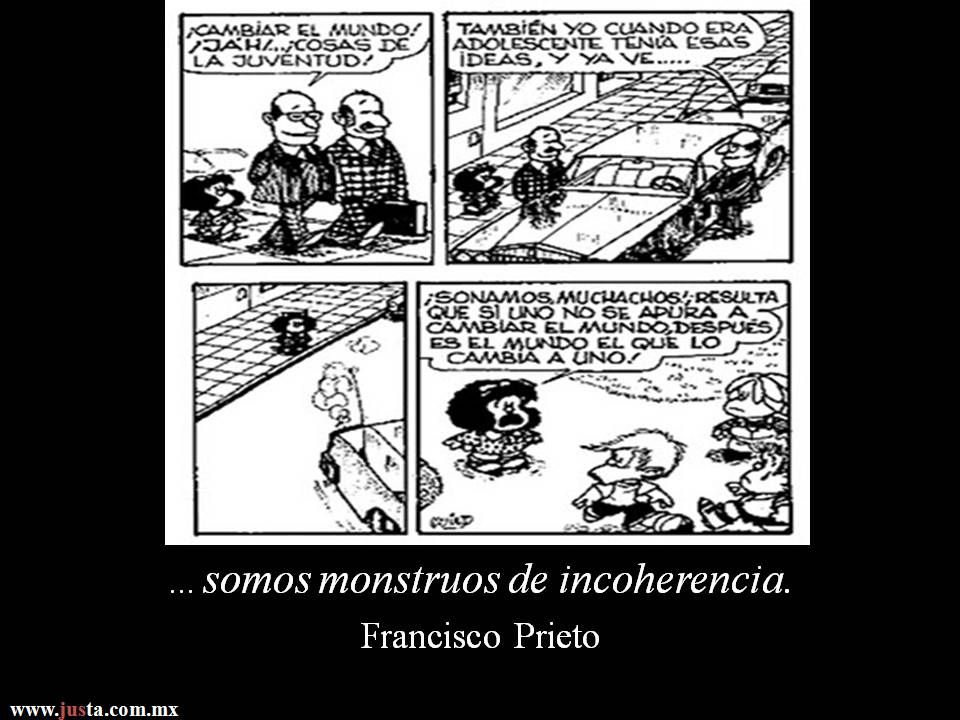 "...""... somos monstruos de incoherencia"".  Fragmento tomado del libro ""Campo de batalla"" de Francisco Prieto (Jus 2008)  Asiste a la Tertulia Literaria de ""Campo de Batalla"" con el autor hoy jueves 24 de octubre en Calle Donceles No.66. Col. Centro, México D.F., a las 17 hrs."