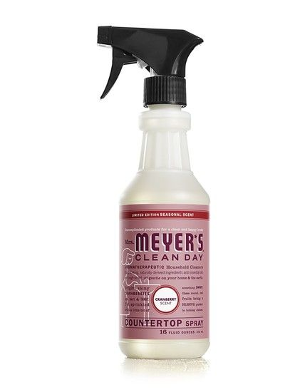 Cranberry Countertop Spray Try This Tart And Tangy Limited Edition Seasonal Scent 3 99 Mrs Meyer S Clean Day Com Cleaning Cleaning Day Clean Dishwasher