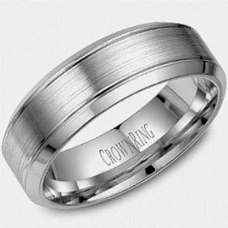 Cool Wedding Bands for Men- Crown Ring