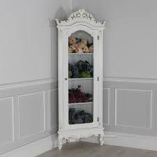 Antique White Corner Curio Cabinet Google Search Corner