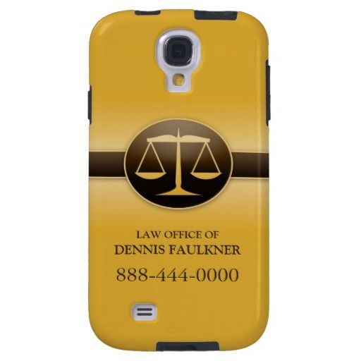 Law Scale Business Samsung Galaxy S4 Case. It's customizable!