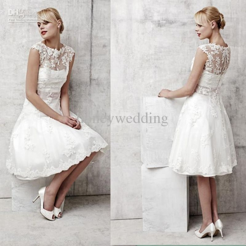Good Short White Wedding Dresses Under 100 Pinterest White