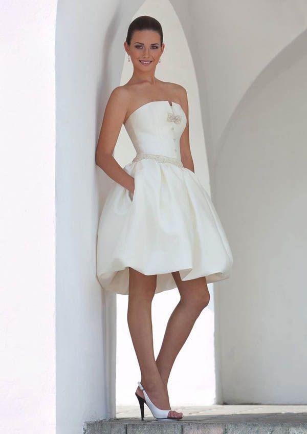 Beautiful Wedding Dresses 2017 Short Reception Dress