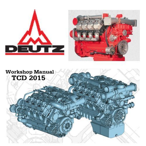 details about deutz tcd workshop manual service manual owners details about deutz 2015 tcd workshop manual service manual owners parts pdf 3 in 1 custom cd