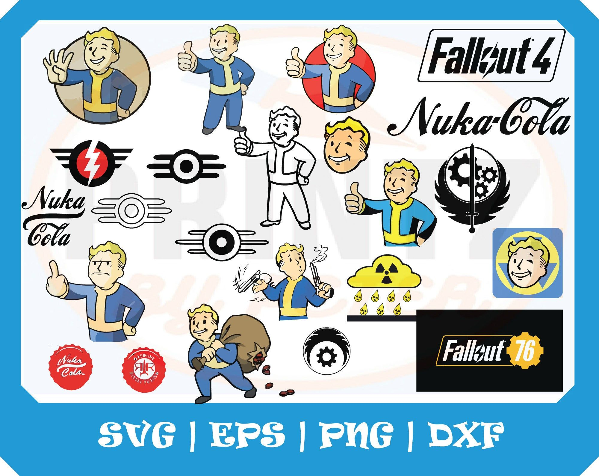 Fallout Svg Vault Boy Nuka Cola For Creating Fallout Cosplay Costume Props Sticker Terrain For Fallout 4 Fallout Cosplay Fallout Posters Fallout New Vegas
