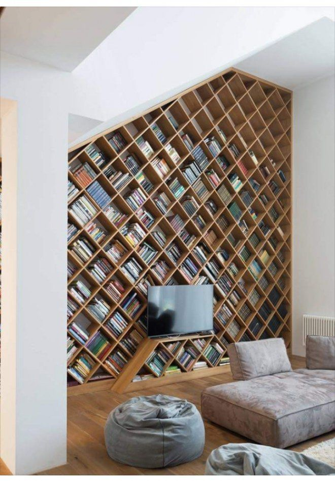 30 library ideas to decorate with books