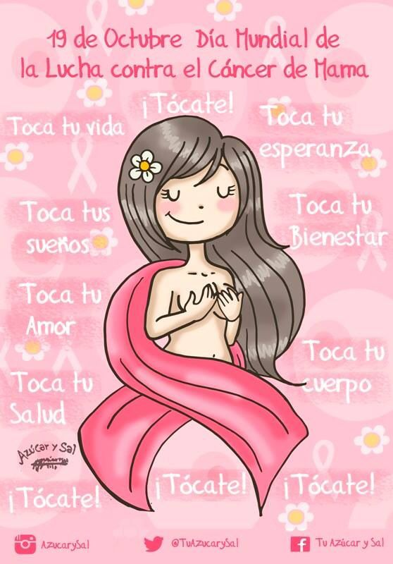Dia Mundial De La Lucha Contra El Cancer De Mama Dia Mundial Contra El Cancer Lucha Contra El Cancer Cancer De Mama