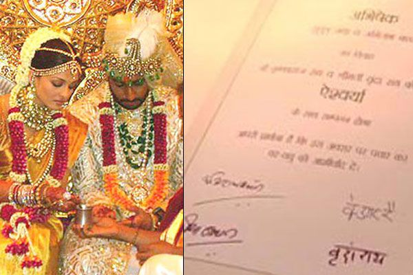 10 Gorgeous Celebrity Wedding Invites For Couples Who Want People To