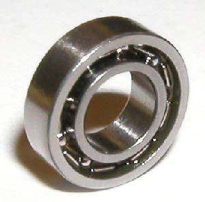 Sr188 Open Stainless Steel Bearing 1 4 X1 2 X1 8 Inch Bearings Steel Miniatures Bear