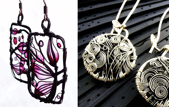 Viau Photography Unique and Innovative Jewelry Designs wire and