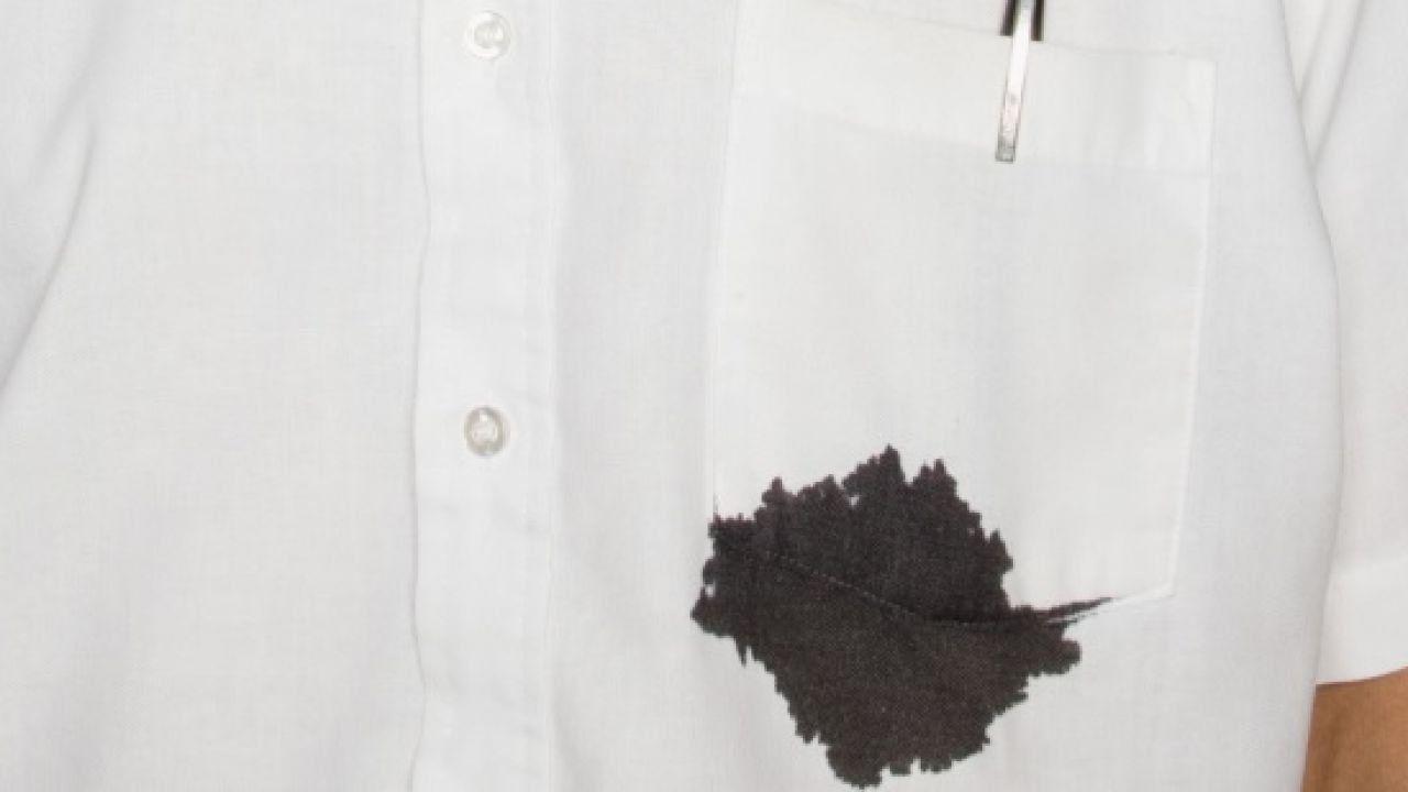 كيف أتخلص من بقع الحبر على الملابس Ink Out Of Clothes Ink Stain Removal Chocolate Stains