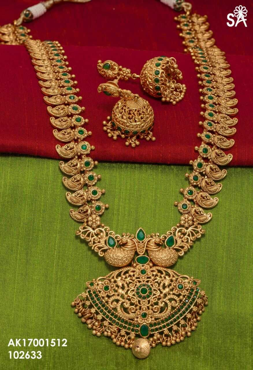 dfca2b4e6 Long mango haram. Matt finish one gram gold jewelry