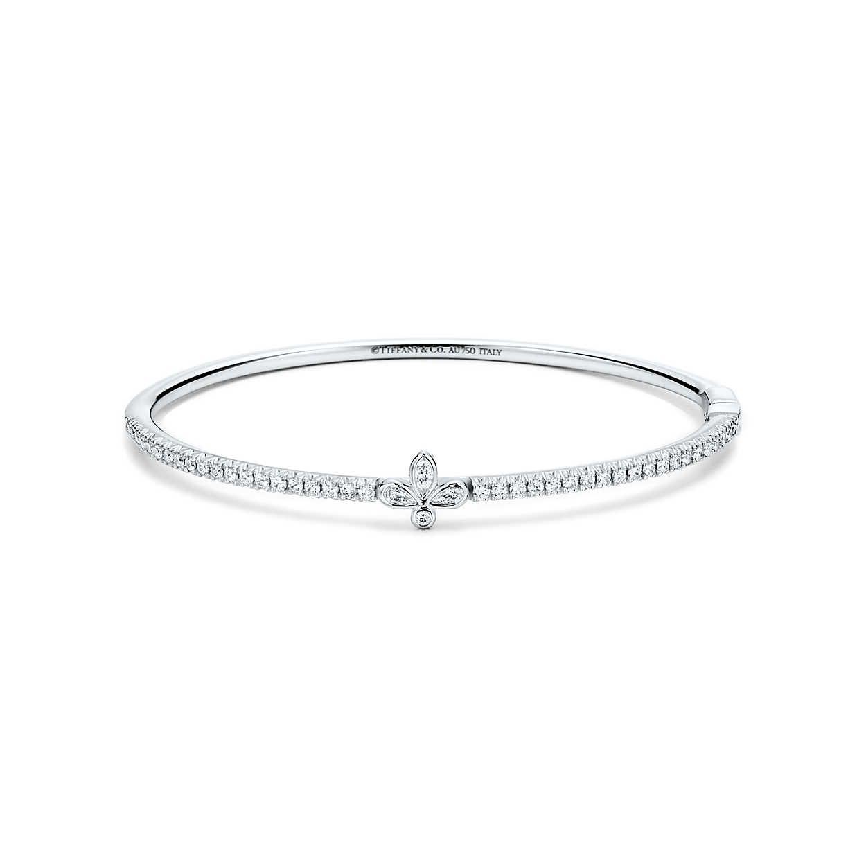 cb266c03fe7e0 Bangle in 2019 | Jewelry | Tiffany, Diamond bangle, Jewelry