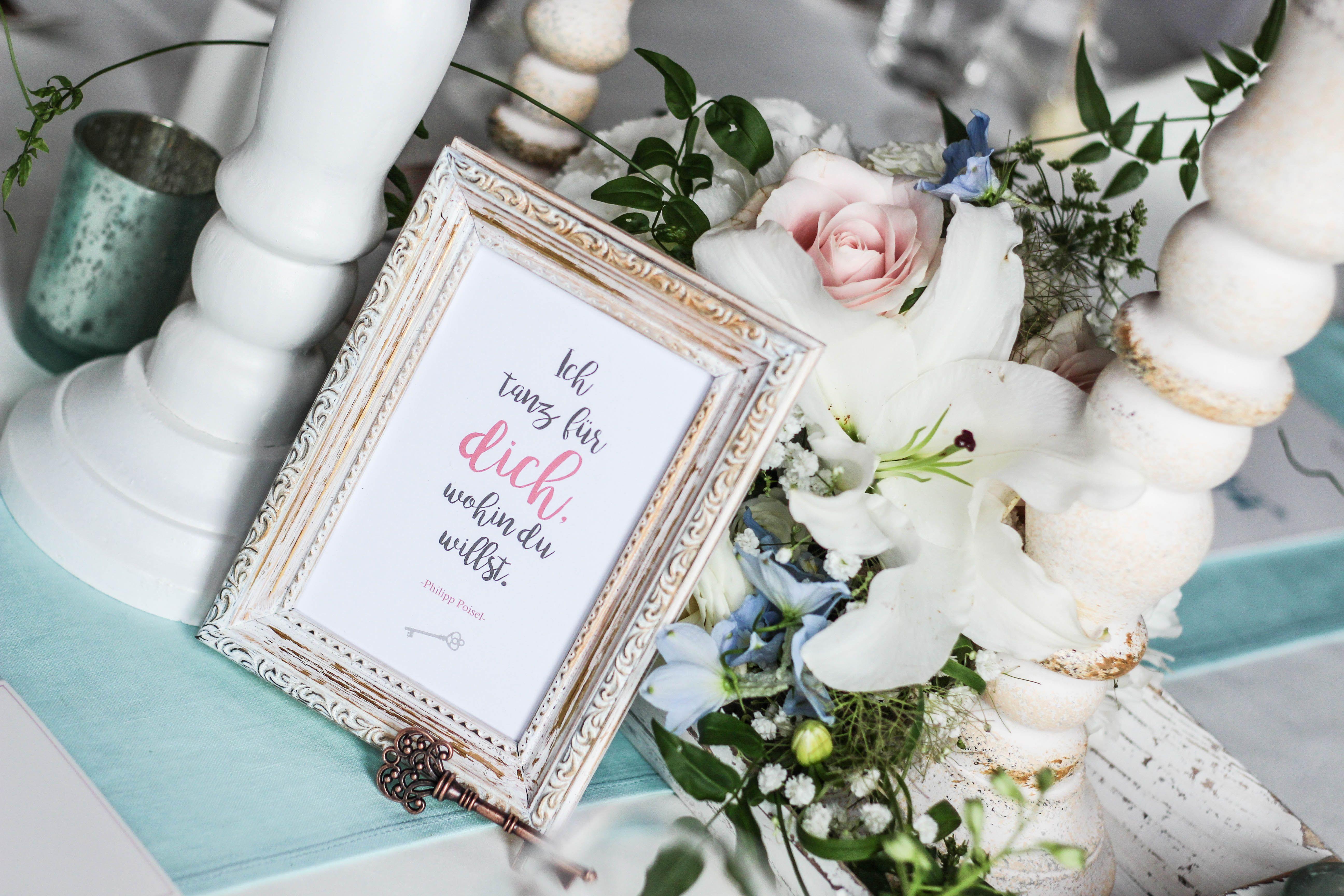 Sommerhochzeit: romantische Hochzeitsdekoration im angesagten Shabby ...