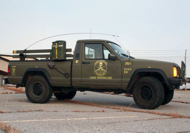 Survival Vehicles for Sale | Zombie Hunting Jeep Comanche