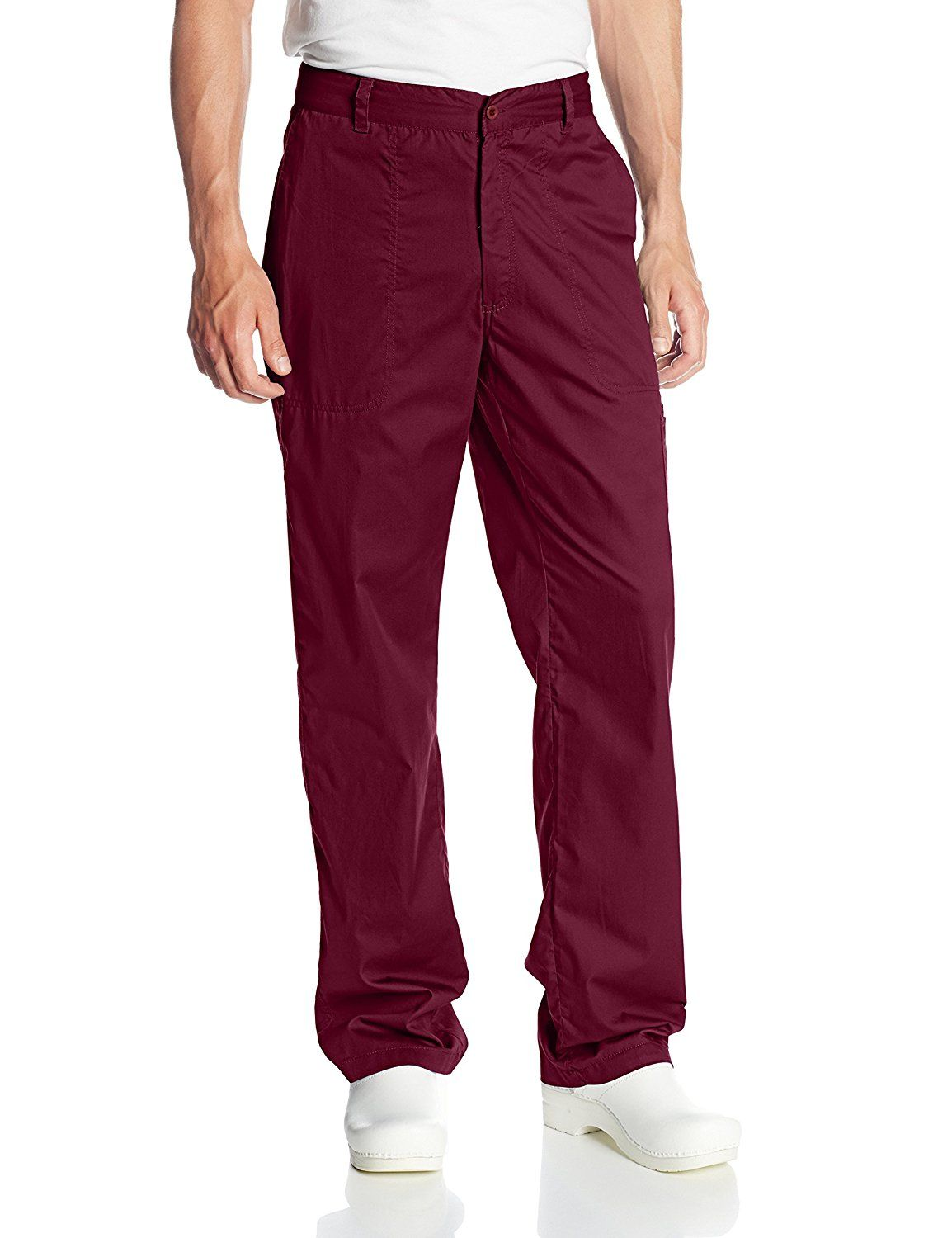 ICU by Barco Men's Tall 5 Pocket Scrub Pant With Zip Fly