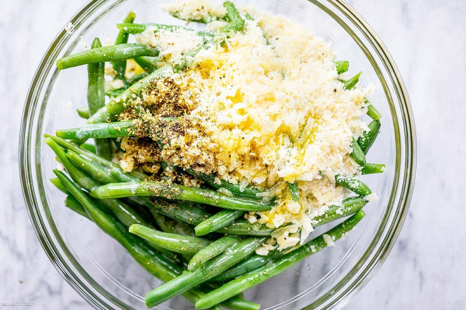 Roasted Garlic Parmesan Green Beans -  Roasted Garlic Parmesan Green Beans – – These epic roast