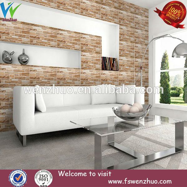 Decorative Wall Tiles For Living Room Rough Stone Interior Textured Decorative Wall Tile 300X600Mm