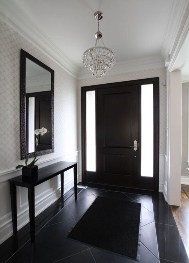 30 Black Interior And Exterior Doors Creating Brighter