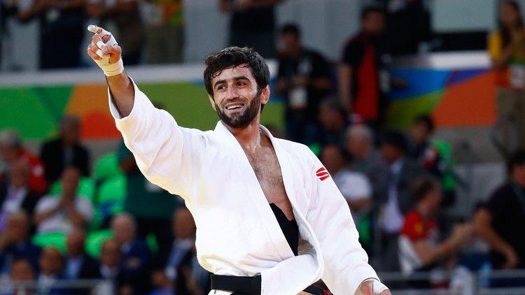 Beslán Mudránov, Judo (Rusia)