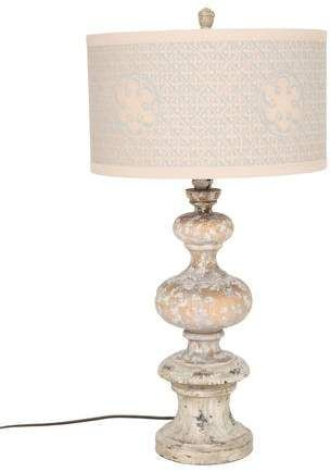 Aiden Gray Distressed Table Lamp Products