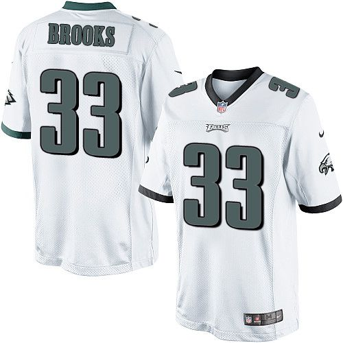 093bd32ab Youth Nike Philadelphia Eagles  33 Ron Brooks Limited White NFL Jersey