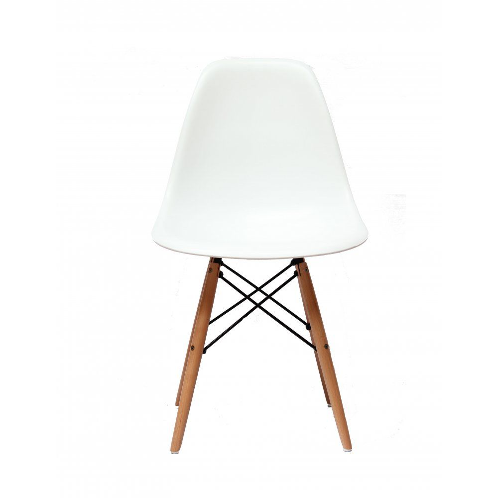 Charles Eames Charles Eames Style Dsw Eiffel White Dining Chair