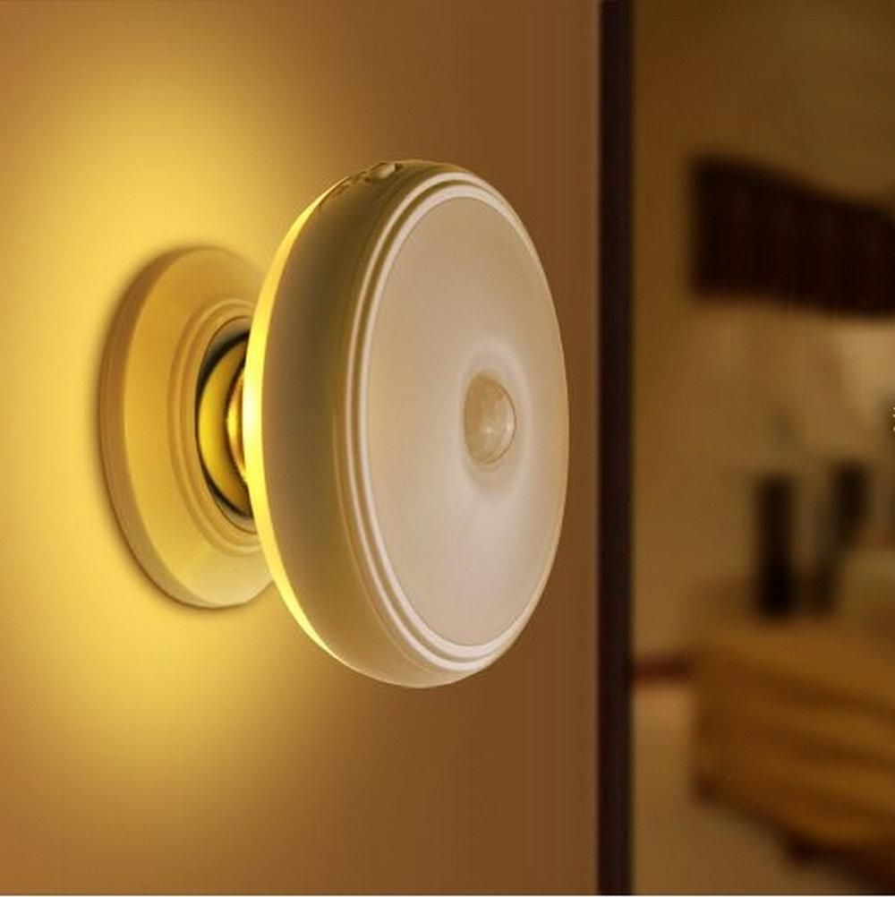 Rechargeable Motion Sensor Pir Wireless Led Wall Lamp Small Led Lights Motion Sensor Lights Rechargeable Lamp