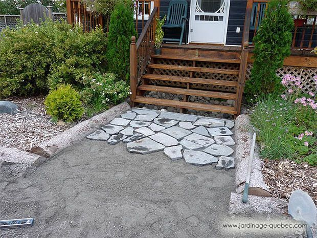 Photo of garden Path Cheap – Stone Path From Tombstone Residues… #gardenPath #Cheap    …