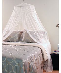 Awesome White Mosquito Net Canopy | Overstock.com Shopping   The Best Deals On Bed  Canopies