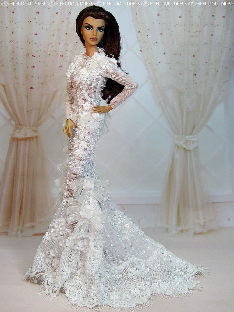 Check Out The New Dress On My Ebay Http Www Barbie Weddinggown