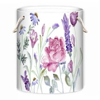"""#HomeDecor  Home Storage or Laundry Bag """"Rose"""" watercolour design by Kate Chloe   http://www.katechloe.com/#!product/prd14/4521587861/home-storage-bag-%22rose%22"""