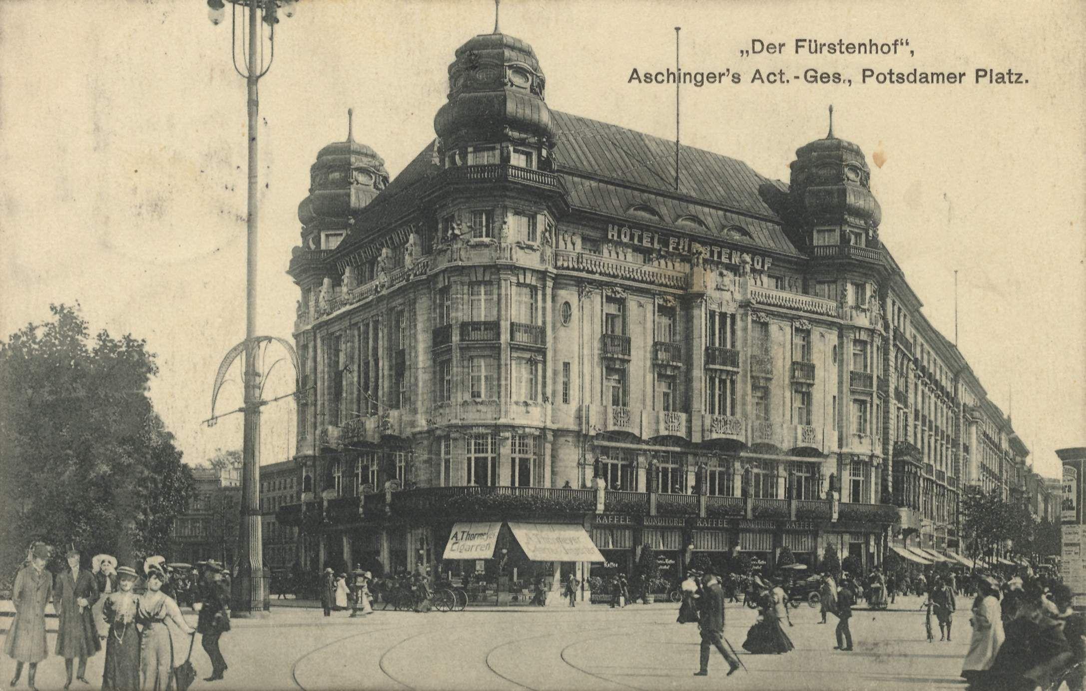 Der Furstenhof.. Potsdamer Platz