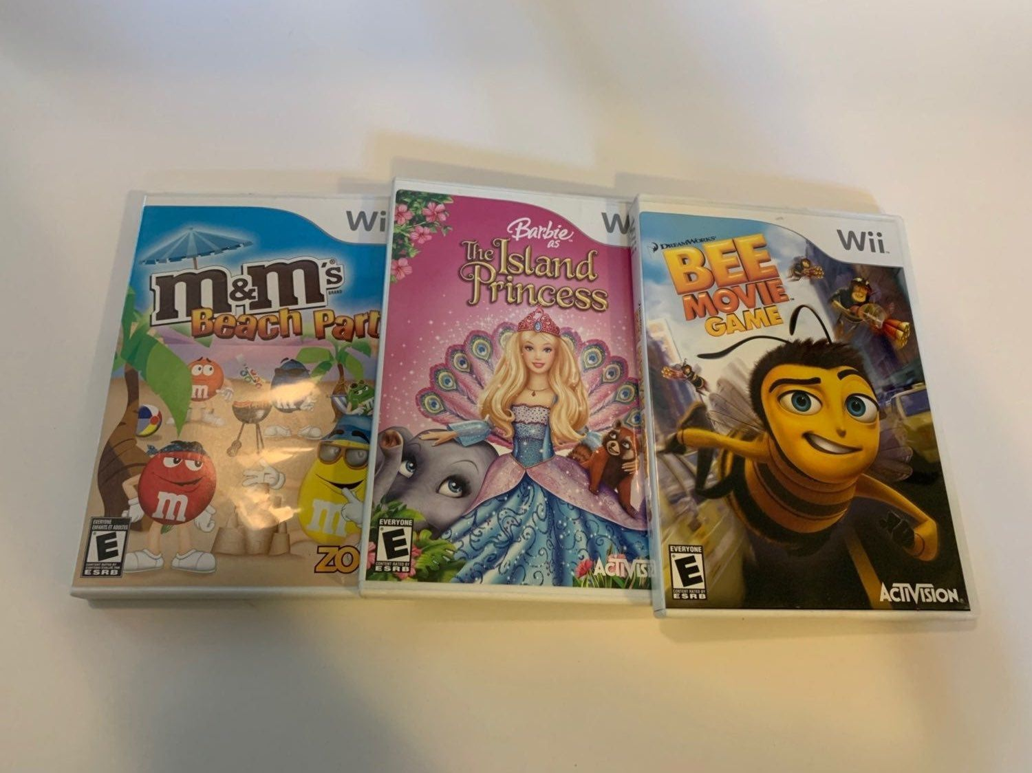 This Is A Lot Of Three Games Bee Movie Game M M S Beach Party