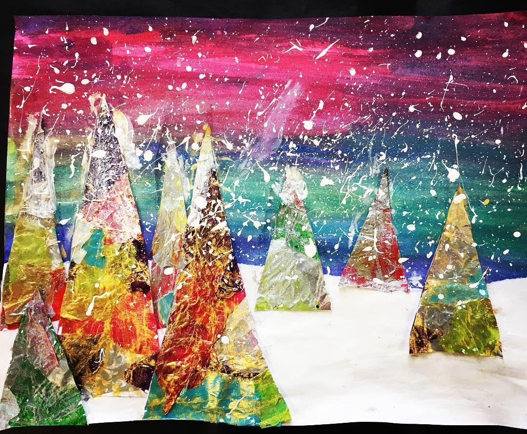 Winter Collages 8th Elkinsmsart
