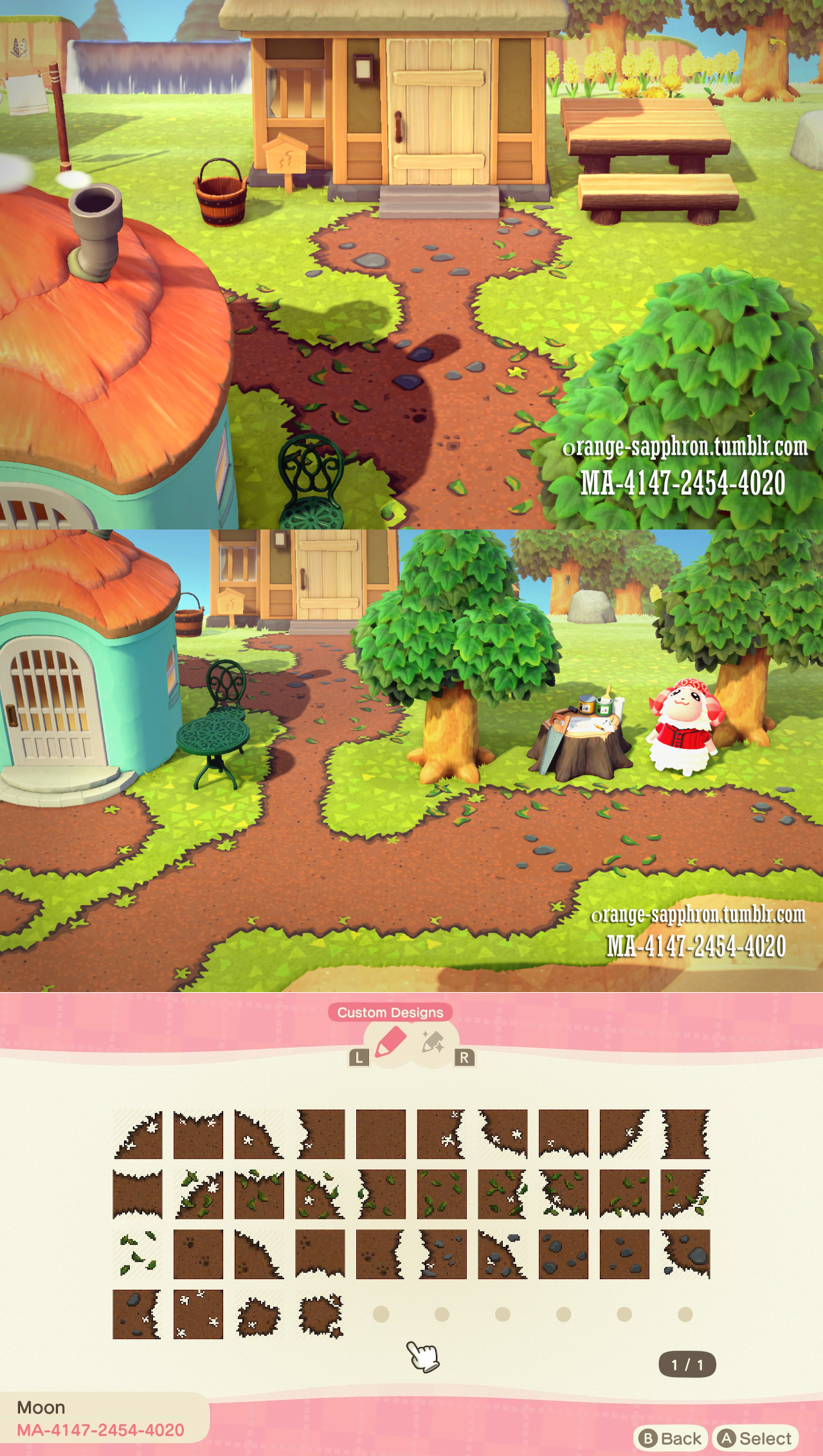 Dirt Paths With Rocks And Leaves Animal Crossing Animal Crossing 3ds Animal Crossing Guide