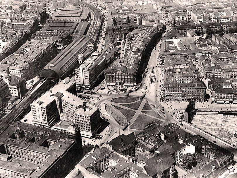 Destroyedgermany Berlin Alexanderplatz Berlin Geschichte Berlin Alexanderplatz Historische Fotos