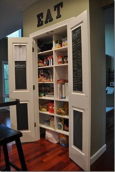 bifold doors for kitchen pantry Google Search Kitchen Ideas