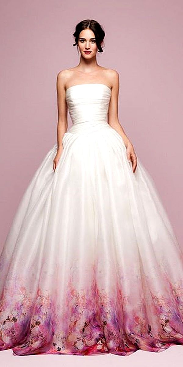 30 ball gown wedding dresses fit for a queen ball gowns for Different colored wedding dresses